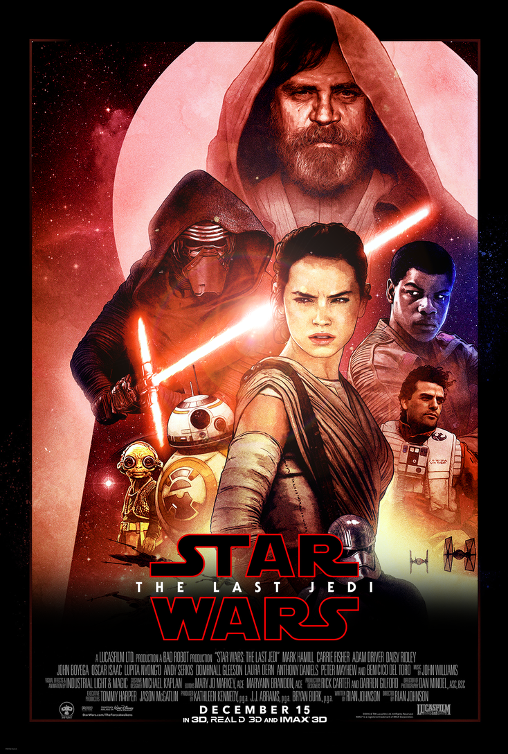 how to make a star wars movie poster