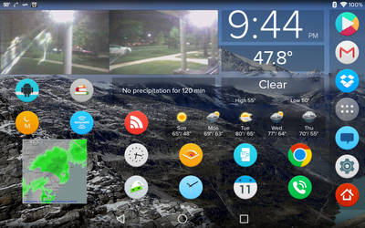 Nexus 7 Homescreen - October 2014 by richwise