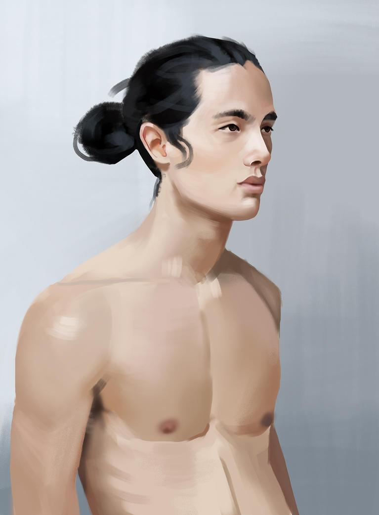Portrait study by remplica
