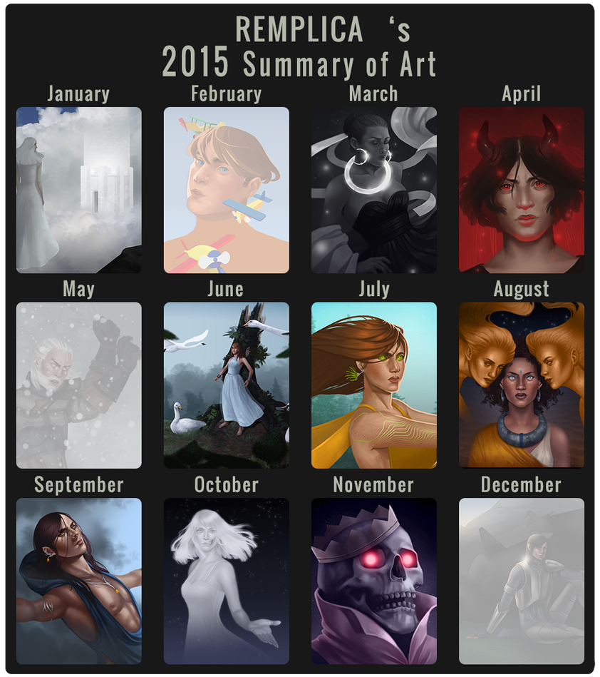 2015 Summary of Art by remplica
