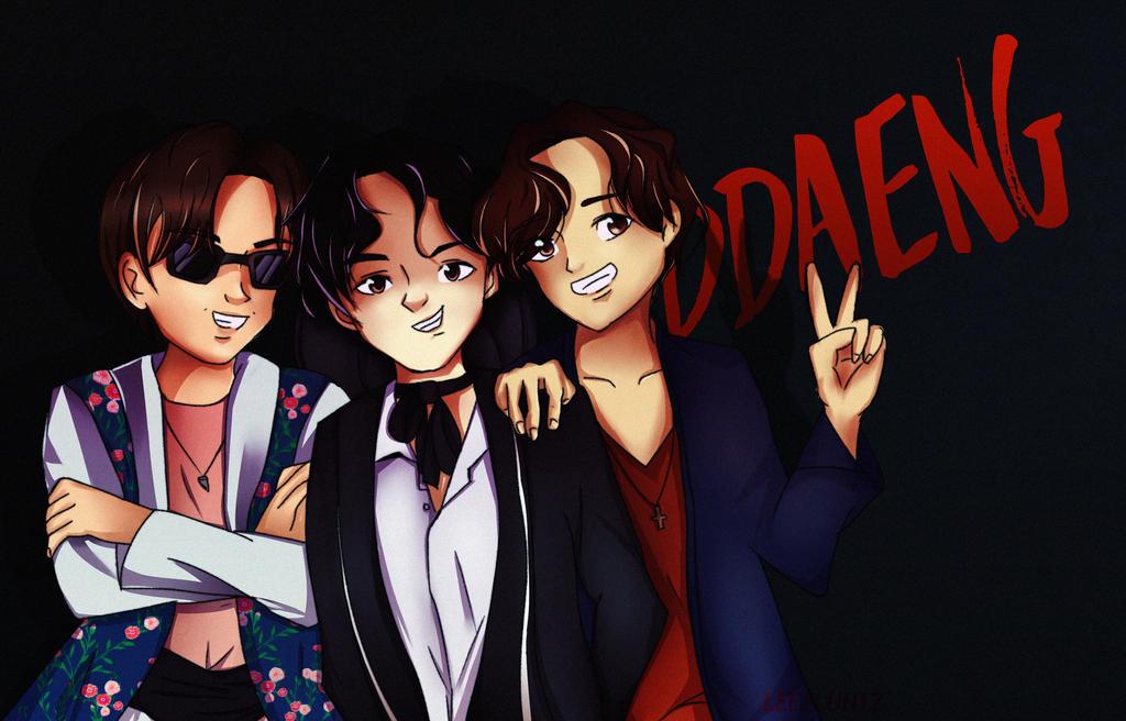 BTS | Ddaeng by AlexMcCormick on DeviantArt