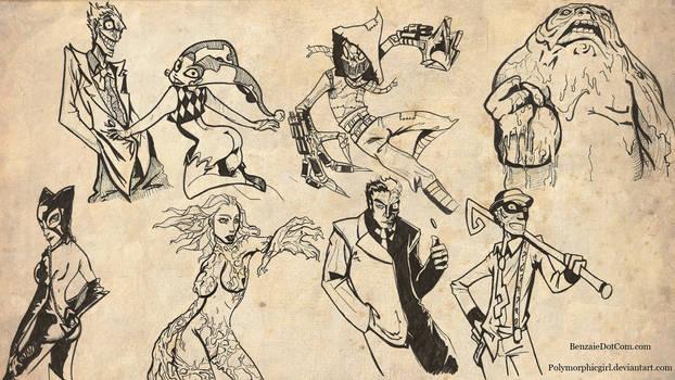Batman Villains wallpaper