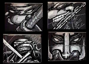 Turtle Power - TMNT drawn on DSi Flipnote