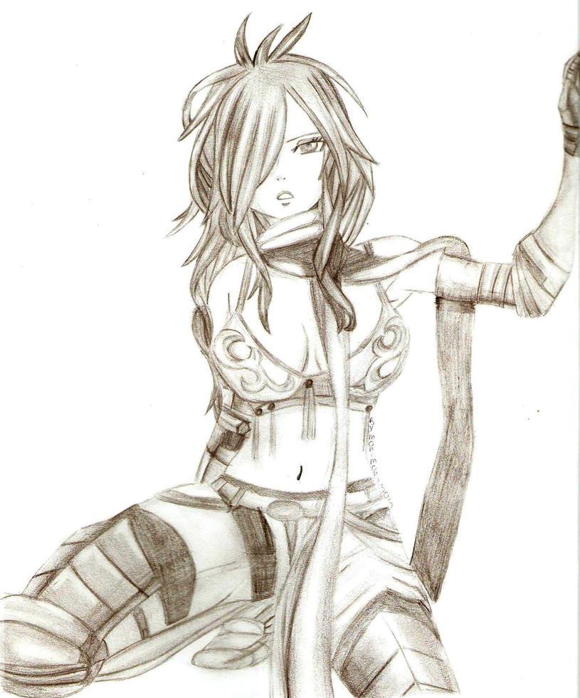 Fairy Tail,Erza by monimoni305