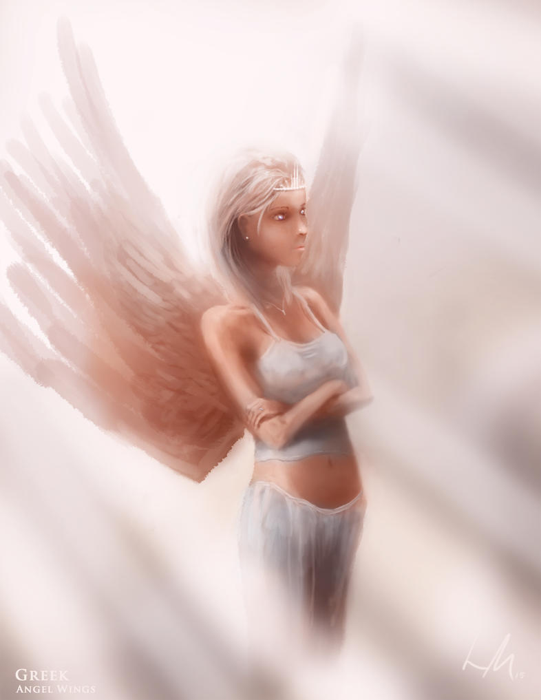 Angel Wings by LukeMaynard