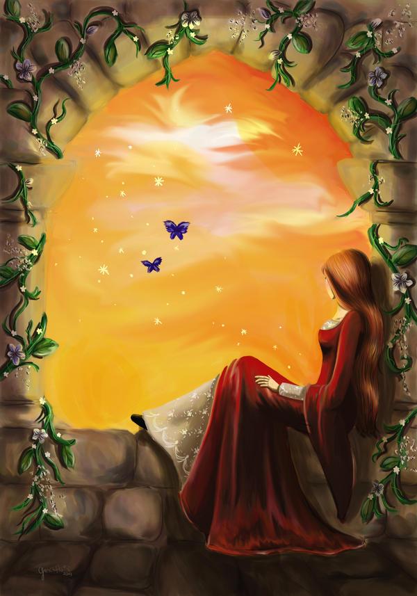 Wishing by LadyDragonart