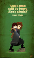 Bran STark a Brave Boy!
