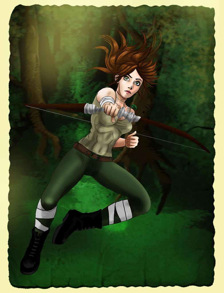 Lara and her arc by acidbetta