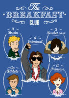 The Breakfast club by acidbetta