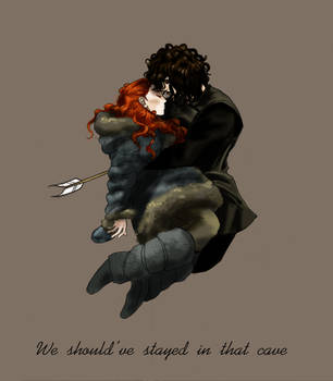 John and Ygritte by acidbetta