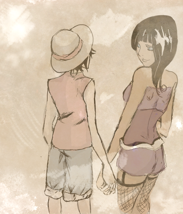 One Piece Holding Hands