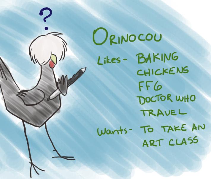 orinocou's Profile Picture