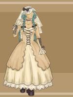 AE Gothic Lolita Wedding by orinocou