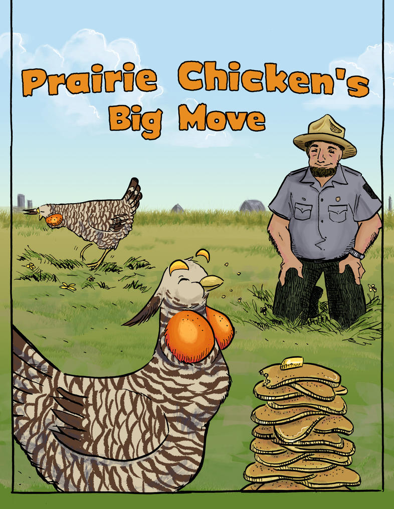 Prairie Chicken's Big Move Cover by orinocou