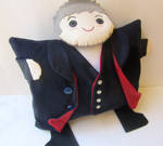 Doctor Who- Twelfth Doctor Pillow Plushie by orinocou