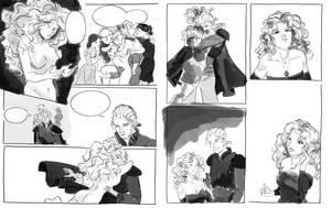 FF6 Unfinished Mini Comic by orinocou