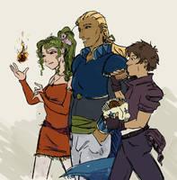 Power Trio by orinocou