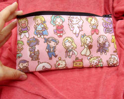 Final Fantasy 6 Zippered Pouch