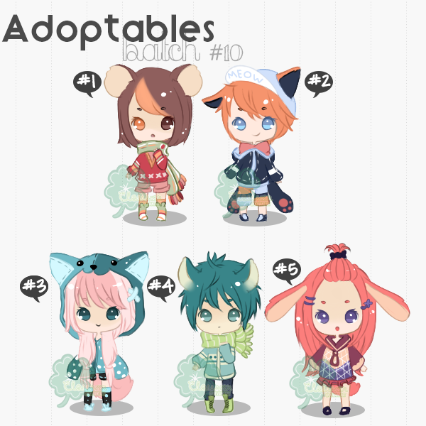 [ADOPTS][OPEN]: MIXD ADOPTS 2/5 [SET PRICE] by Clouver