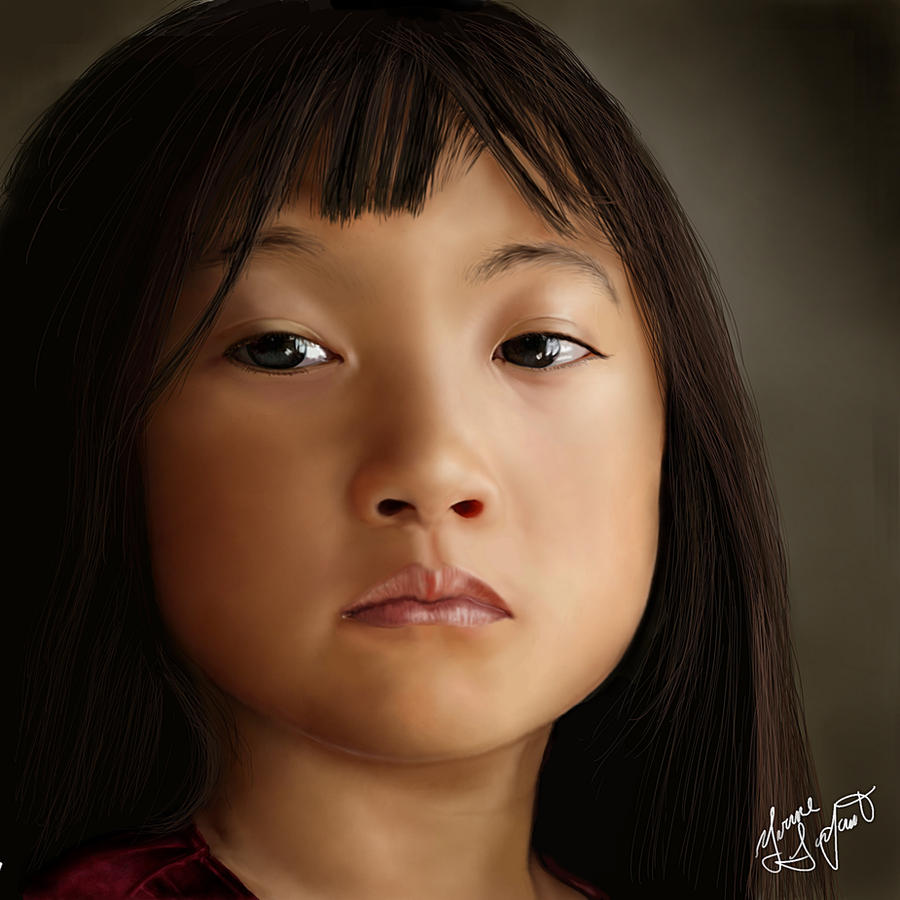 Chinese girl by Shaytan666