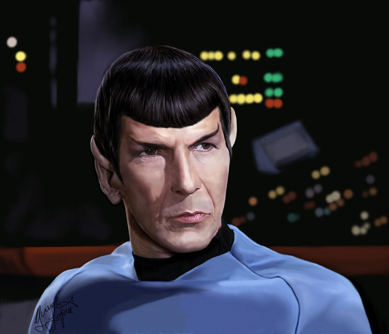 Mr. Spock by Shaytan666