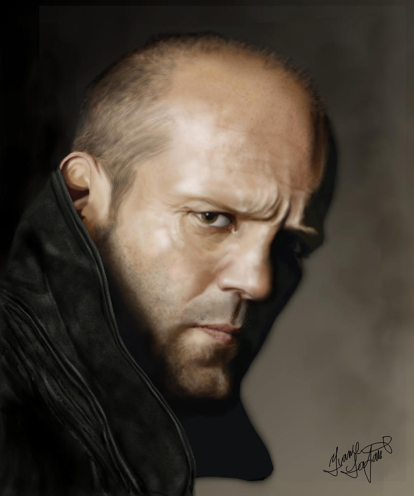 Jason Statham by ~Shaytan666