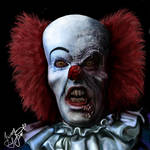 Devil clown Pennywise