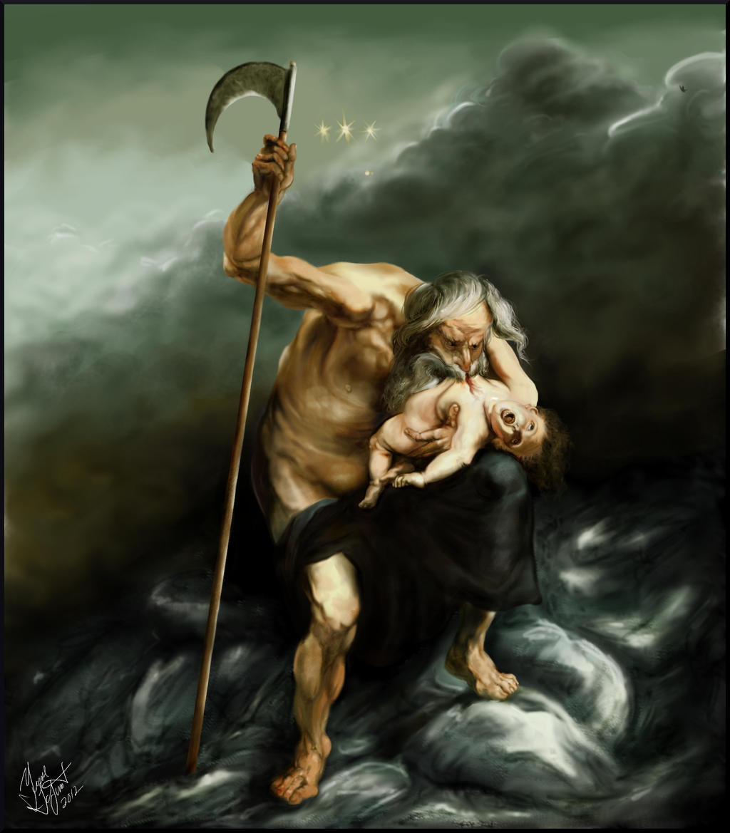 Saturn of Rubens by Shaytan666