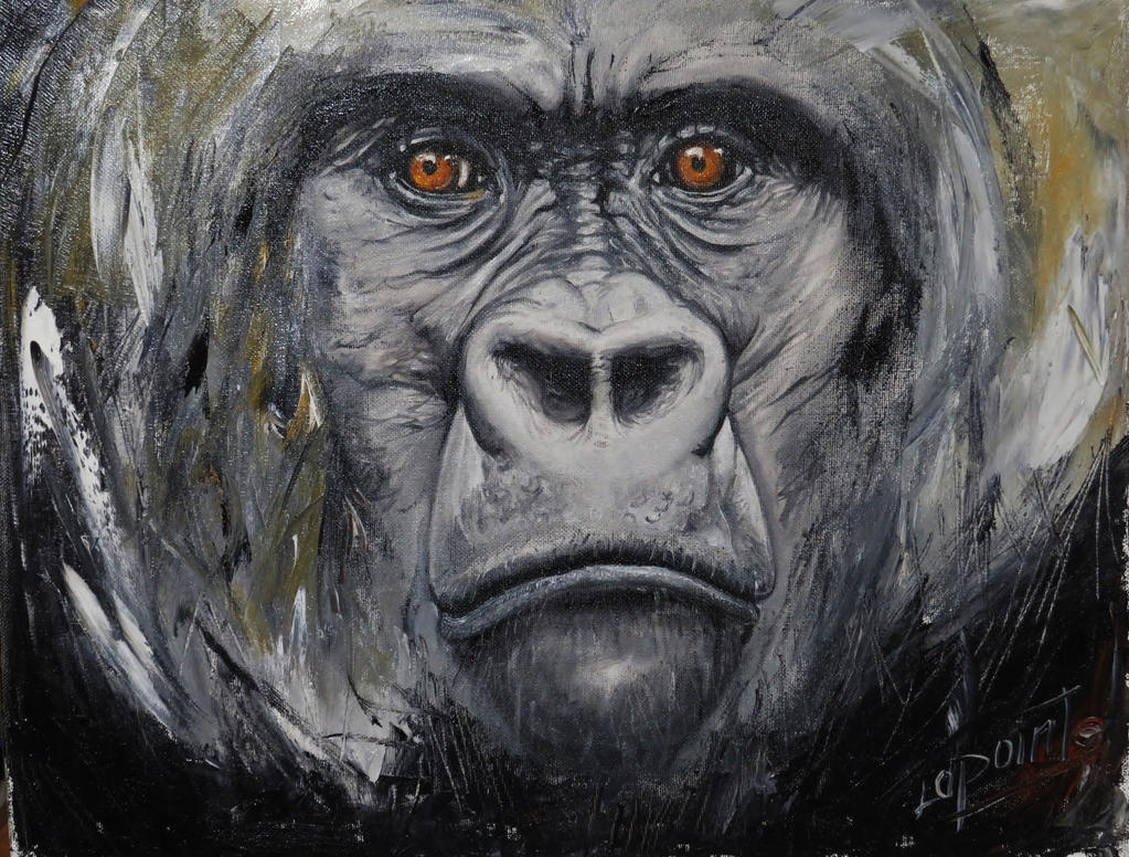 Gorille by Shaytan666