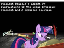 Twilight Sparkle's Report On the Entropic Gradient