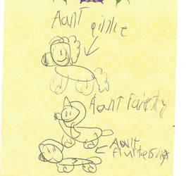 Talya draws ponies in Pandoraverse