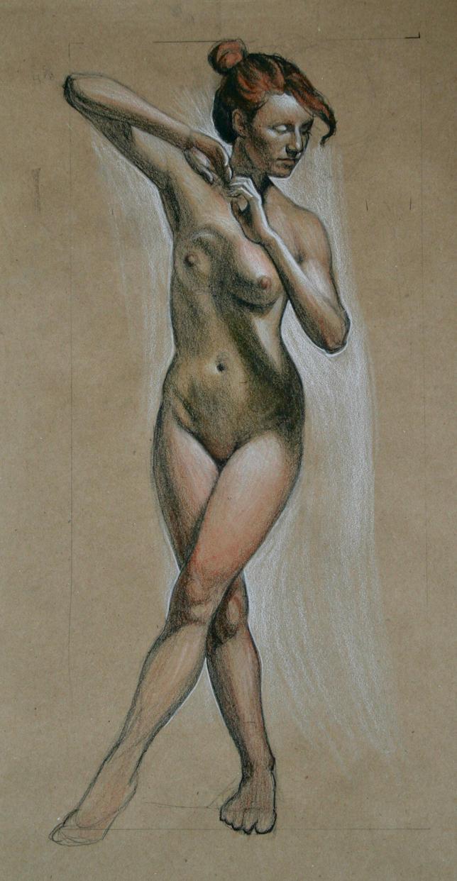 Figure sketch by mkieltyka