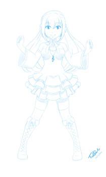 Request: Miyake Ellen (Concept Sketch)