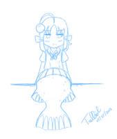 [May Sketch] I am a deep sea fish! by trelliah