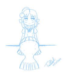 [May Sketch] I am a deep sea fish!