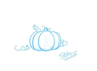 [October Sketch] Magic's End