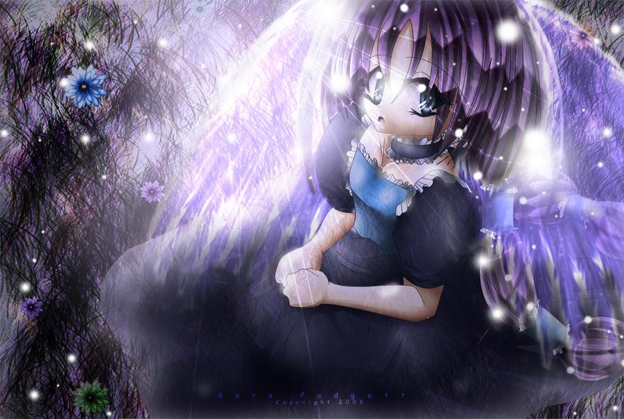 Midnight Angel by PinkyPadgett