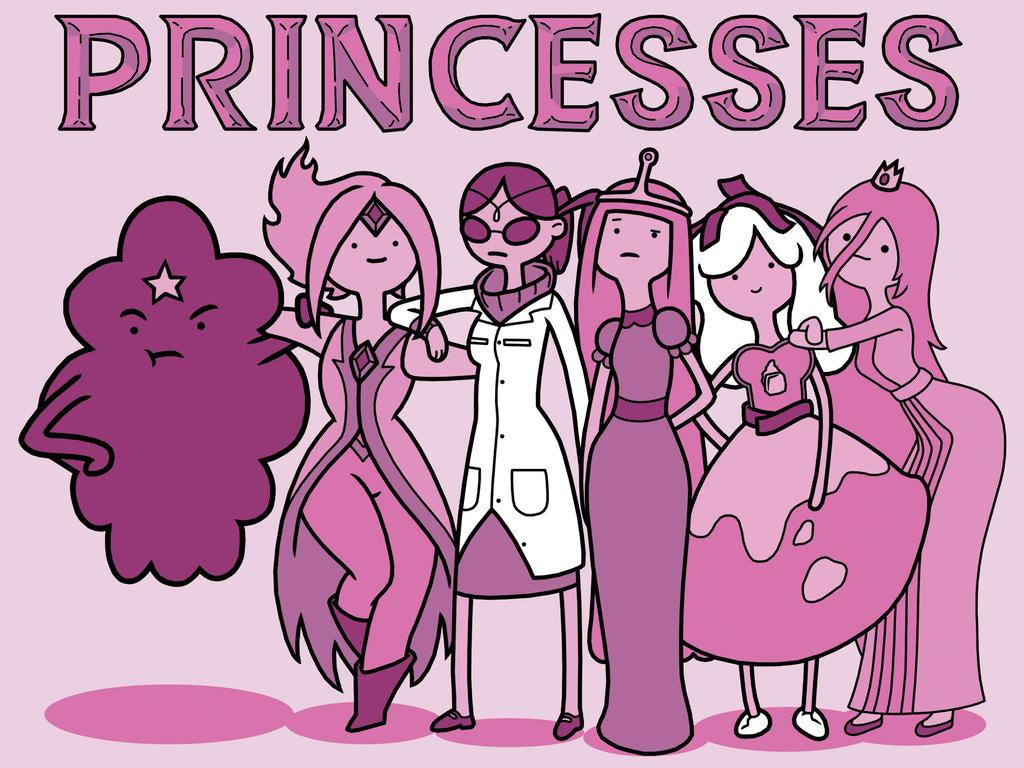 Princesses by digitalkami