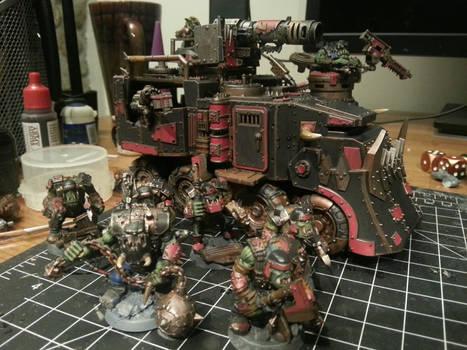 40k Ork 'Ardboyz w/ Nob