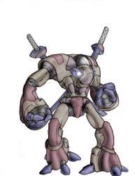 Ninja Robot by Taytonclait