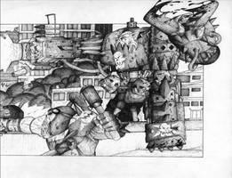Ork Warboss - Oldschool by Taytonclait