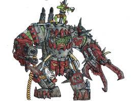 Orks - Mega Armoured Nob clr by Taytonclait
