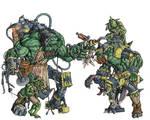 Orks -  Mad Dok - clr