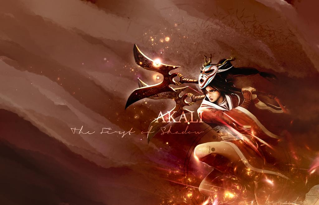 akali wallpaper by freyfie on deviantart