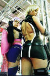 Ayane and Sonia - Sexy Cosplay
