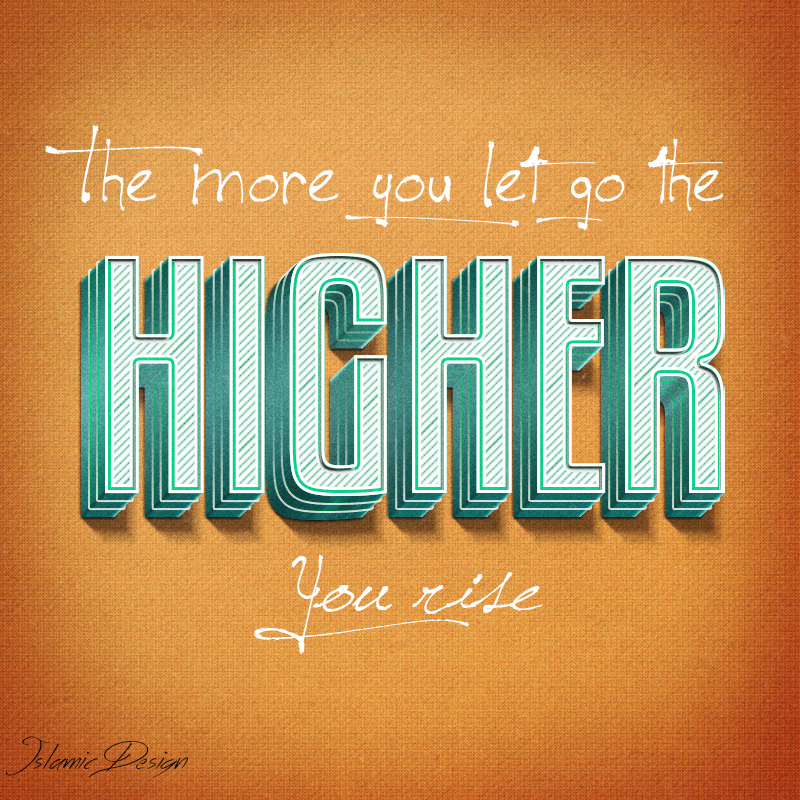 The More You Let Go The Higher You Rise by JennahIsOurGoal