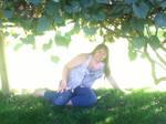 Me under a Grape Arbor