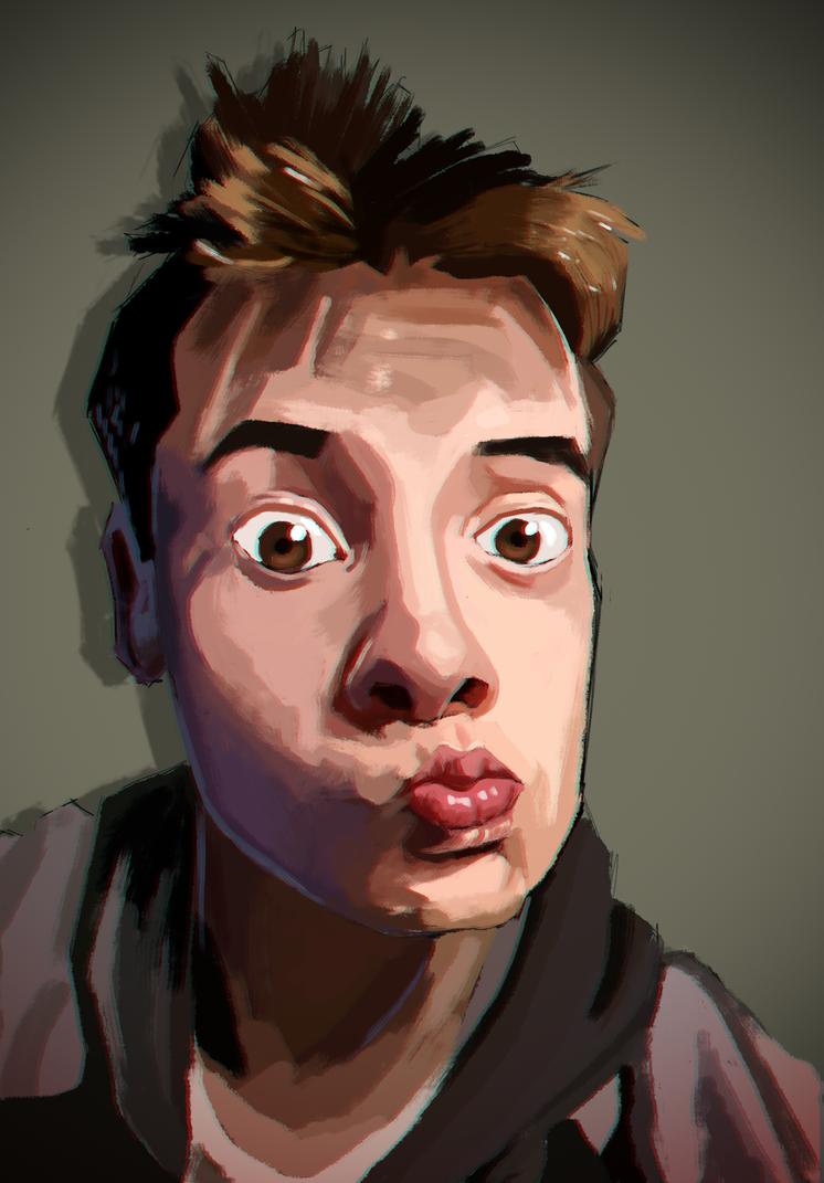 Self Portrait by PotatomanNg