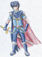 Anime Marth by kanineious