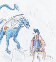 Ike and Buru-hachuu by kanineious
